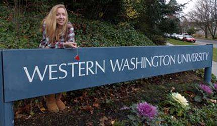 Stephanie at WWU